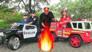 Little Heroes 5 - The Cops, The Fire Engine and The Return of The Spark