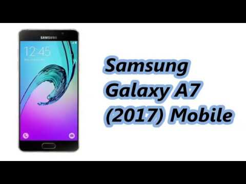 Samsung Galaxy A7 (2017) Mobile Specification [Release In JAN 2017]