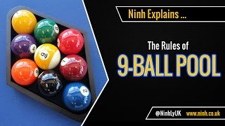The Rules of 9 Ball Pool (Nine Ball Pool) - EXPLAINED!