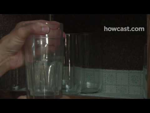 How to Separate Two Glasses That Are Stuck Together