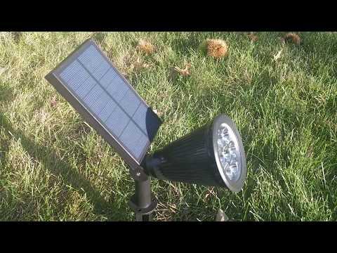 Starsprarie Multi-color Solar Spotlight Review