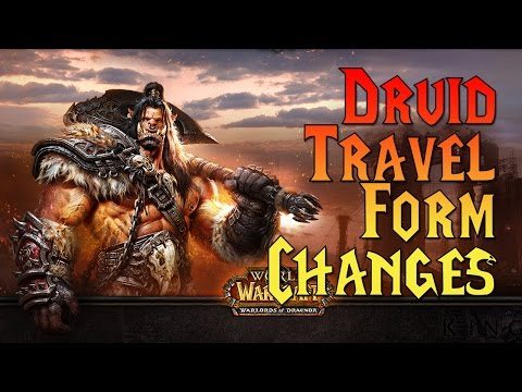 Warlords of Draenor Beta: Druid Travel Form Changes