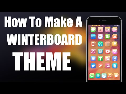 How To Make a Winterboard Theme iOS 8 (No Computer) Tutorial