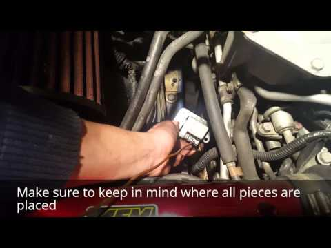 Remove and Replace spark plug & coil packs 04 WRX