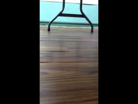 Allure flooring failure