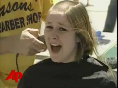 Charity Headshave News Report from Kent State University