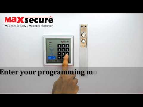 Maxsecure G2000 Door Access Configuration Manual