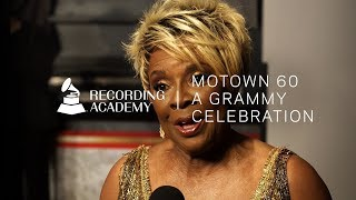 "Thelma Houston On Motown Years: ""My Dream Came True""   Motown 60: A GRAMMY Celebration"