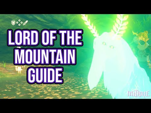 Zelda Breath of the Wild Lord of the Mountain Guide (Funny)