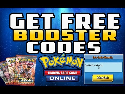 How To Get Free Booster Pack Codes In Pokemon TCG Online