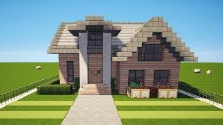 Minecraft Modernes Haus Bauen Tutorial Haus 124