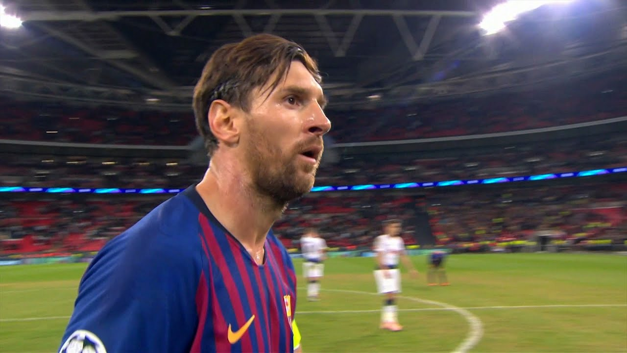 Lionel Messi Destroying Tottenham at Wembley (UCL 2018/19) English Commentary - HD 1080i