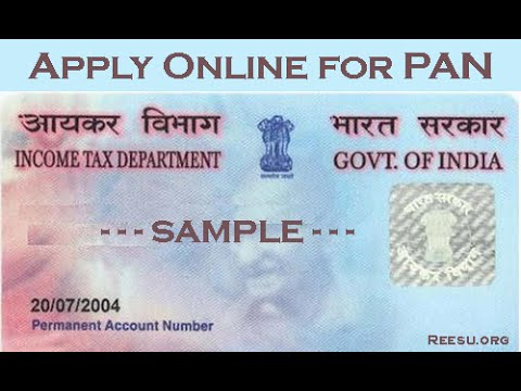 How to Apply For PAN Card Online? Tech Videos