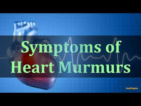Symptoms of Heart Murmurs
