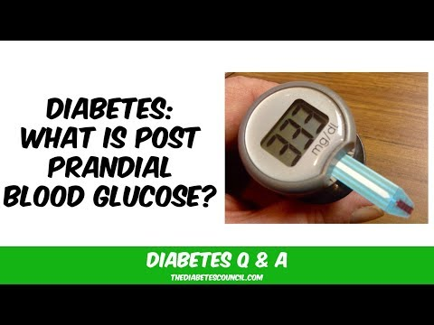 What Is Postprandial Blood Glucose?