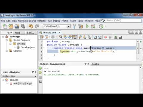 Java for the Absolute Beginner - #4 - Main Method and Basic Variables