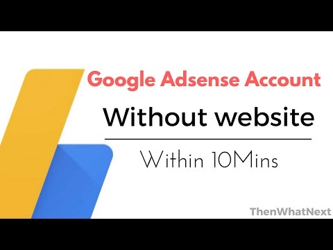 [Hindi] Create Adsense Account  without website, without pageviews within 10 Mins.