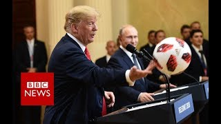 Putin to Trump: Now the ball is in your court - BBC News