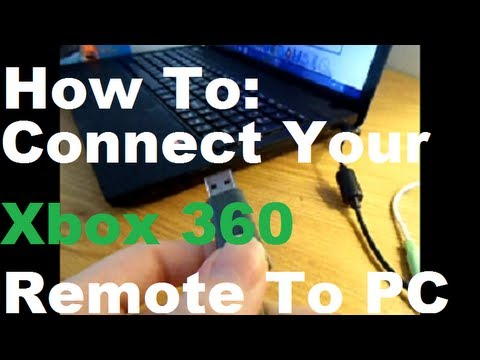 How To: Connect Your Xbox 360 Remote To a PC (Put That Controller To use!)