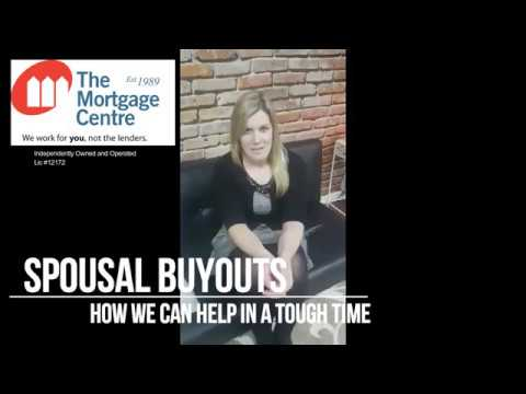 Mortgage Minute - Spousal Buyouts
