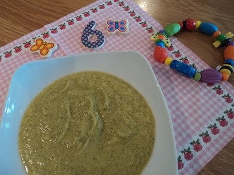 Homemade Baby food puree from 6 ,7 months - Video Recipe