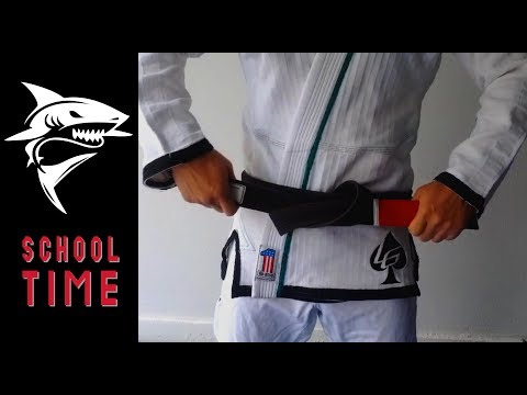 The Best Ways to Tie Your Jiu-Jitsu Belt! - School Time