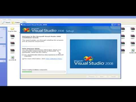 How to install Visual Studio 2008 with telugu voice hover