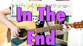 Linkin Park In The End Fingerstyle Cover Tabs Lyrics mp3