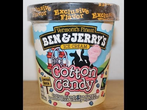 Ben & Jerry's: Cotton Candy Ice Cream Review