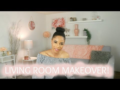 MY LIVING ROOM TOUR! | ROCHELLE CLARKE