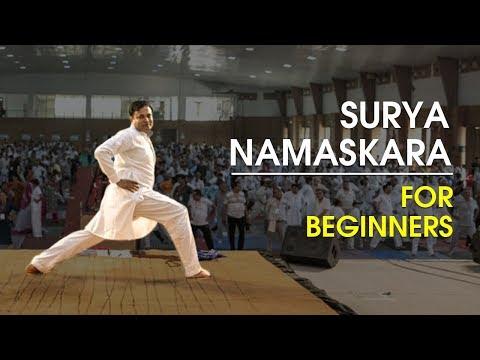 Surya Namaskar for Beginners | Bhai Rakesh