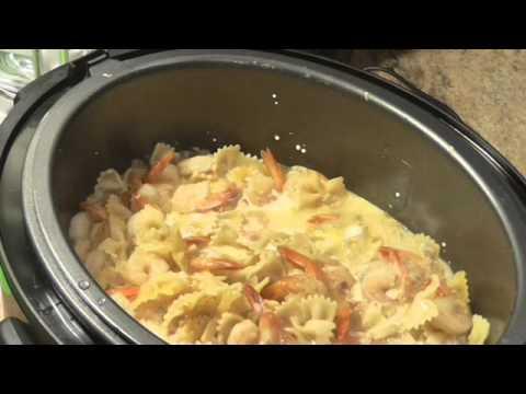 7 Minute Shrimp Alfredo Under Pressure