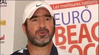 Les sentiments d'Eric CANTONA sur l'équipe de France durant cette Coupe du Monde 2010