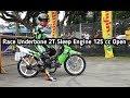 Race Underbone 2T Sleep Engine 125cc Open. Indoclub Championship Seri 1 2020