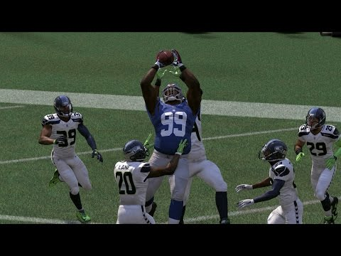 CAN THE SLOWEST PLAYER IN THE NFL SCORE A 99yd TD? 45 SPEED! MADDEN 17 CHALLENGE