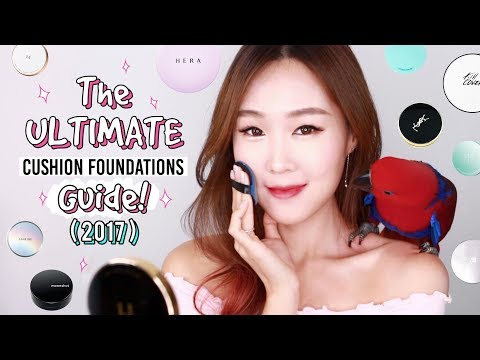 ULTIMATE Cushion Foundations Review & Guide 2017   By Skin Type: Top 30 & Extra Tips/Info   meejmuse