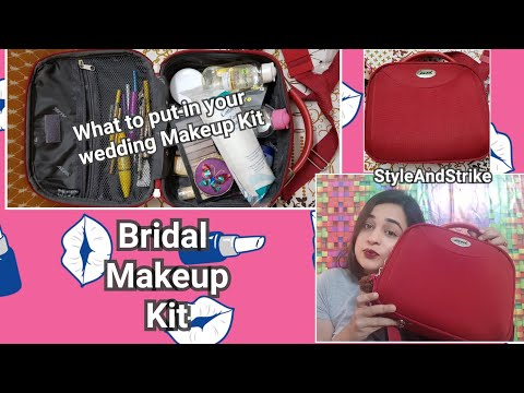 Bridal Makeup Kit / Bridal Kit must Haves / Makup kit for wedding with Lots of options