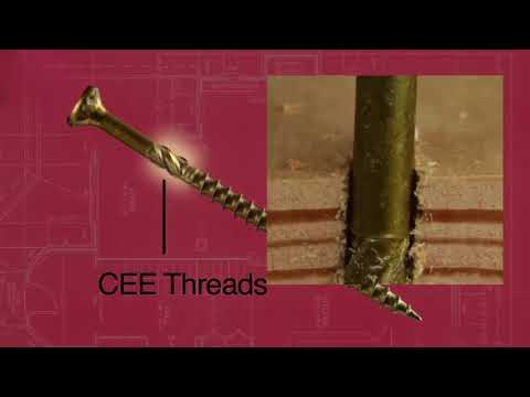 GRK R4 Multipurpose Screws