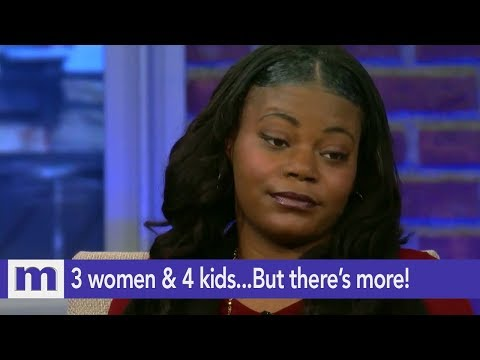 3 women & 4 kids...But there's more!   The Maury Show