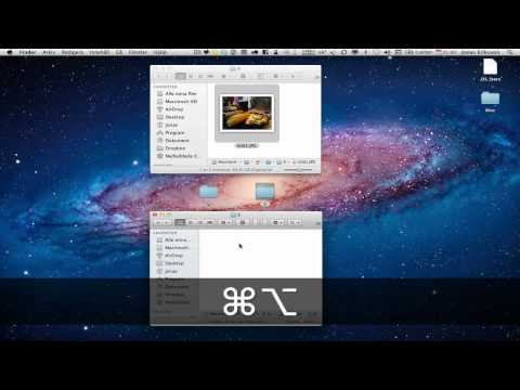 Cut and Paste files in Mac OS X Lion