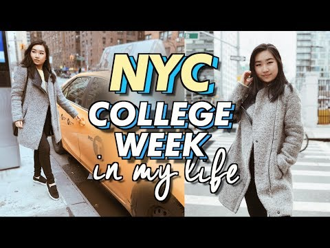 College Week In My Life at NYU in NYC! | JENerationDIY