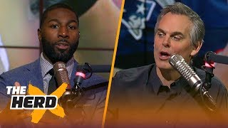 Greg Jennings talks Patriots and Eagles after NFC Championship weekend | THE HERD