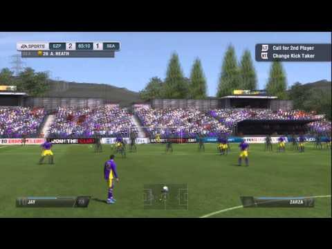 FIFA 13 - Amazing Free Kick on Pro Clubs!