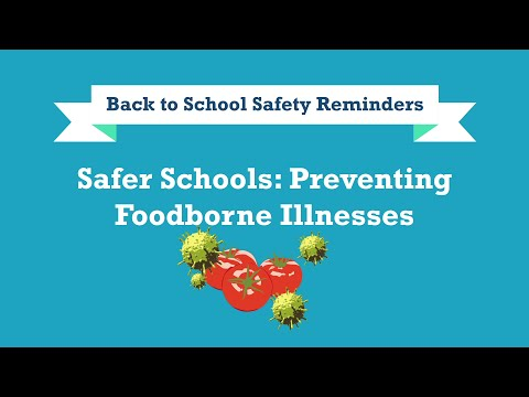 Back to School Safety Reminders: Preventing Foodborne Illnesses