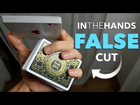 In The Hands False Card Shuffle and Cut Tutorial