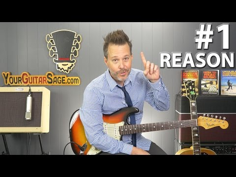 #1 Reason Why Your Guitar Keeps Going Out Of Tune