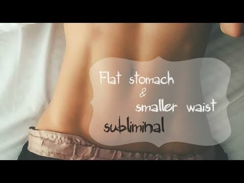 Get A Flat Stomach & Small Waist FAST // Subliminal