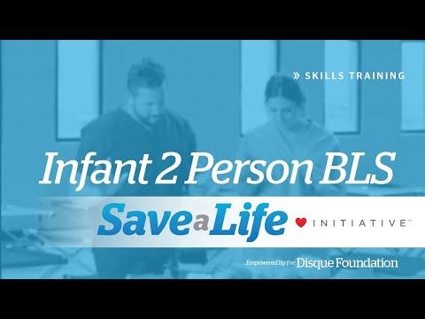 Infant 2 Person BLS