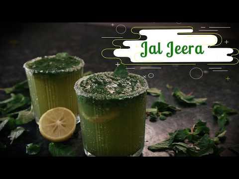 Minty Jal Jeera with Soda | Phudina Jaljeera | How to make Jal Jeera Drink Recipe by Shree's Recipes