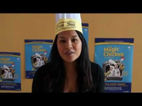 Time Out TV - Make a Chef Hat with Captain Jane!